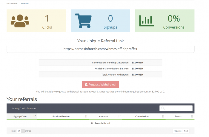 Protected: Customer Referral Affiliate Program